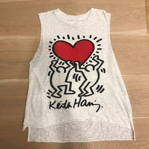 Keith Haring Muscle Tee White